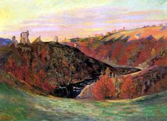 Sunset in Creuse by @art_guillaumin #impressionism