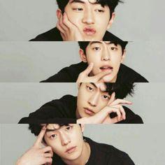 Nam Joo Hyuk Smile, Nam Joo Hyuk Lee Sung Kyung, Jong Hyuk, Asian Actors, Korean Actors, Nam Joo Hyuk Wallpaper, Joon Hyung, Kim Book, Ahn Hyo Seop