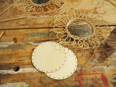 Fabriquer son miroir en rotin |MilK decoration