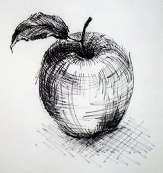 Simple cross hatching shows shadowing.                              …