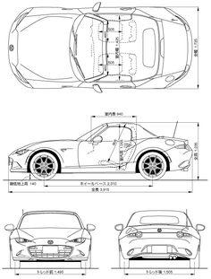 Mazda Roadster ND dimensions