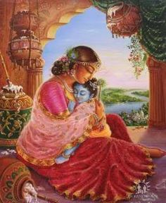 Joseph Almighty's Site - Firstborn Son of Almighty God - Lord Krishna - The Incarnation Of Lord Vishnu In Ancient India Hare Krishna, Krishna Leela, Radha Krishna Love, Yashoda Krishna, Jai Shree Krishna, Lord Krishna Images, Radha Krishna Pictures, Little Krishna, Bhagavata Purana