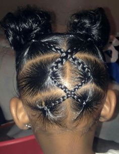 Hair Styles Natural Kids Curls 28 Ideas The Effective Pictures We Offer You About kids hairstyles easy A quality … Lil Girl Hairstyles Braids, Toddler Braided Hairstyles, Black Kids Hairstyles, Natural Hairstyles For Kids, Toddler African American Hairstyles, Kids Natural Hair, Mixed Baby Hairstyles, Rubber Band Hairstyles, Teenage Hairstyles