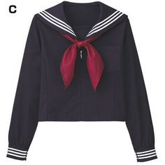 Japanese Online Shop - [Cecile] Sailor Shirt (w/Scarf) / New Items for Fall & Winter 2012, Teens': JSHOPPERS.com ($20-50)
