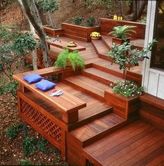 The Best DIY and Decor Place For You: Redwood deck