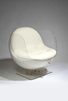Retro-Future, Futuristic Furniture - I've always loved these - Boris Tabakoff