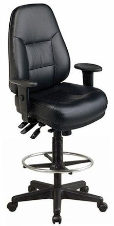 Harwick Multi-Function Leather Drafting Chair $ 299.00 Office Drafting Chairs Product Features The most comfortable drafting chair that you'll ever sit in! Thickly padded, ergonomically contoured seat and back cushions Height and width adjustable urethane padded arms Height adjustable chrome footring Rich, top grain black leather seating surfaces (no eco-leather!) Office Drafting Chairs Product Description This is the most comfortable […] http://www.bigofficefurn..
