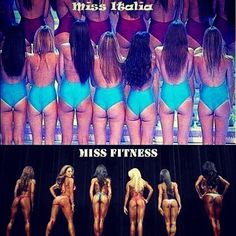 Perfect Example of Skinny vs Fit!! This was posted in my fitness team yesterday and I had to share it lol! There is a big difference between...
