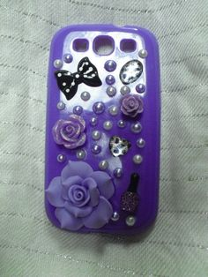 Purple Galaxy S3 phone case by Futjigoolies on Etsy, $15.00
