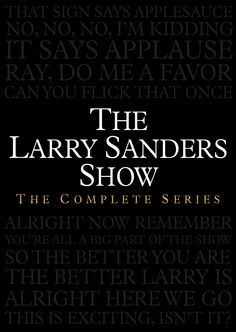 """If you have not seen """"The Larry Sanders Show"""", and you're a fan of edgy comedy, this is must-see pioneering 1990s TV. Garry Shandling guest-hosted for Johnny Carson many times and knew the world of late night talk shows inside and out."""