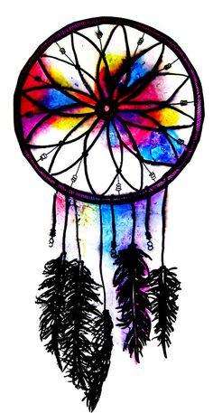 tattoo ideas, dream catchers, dreams, dream catcher tattoo, watercolor tattoos