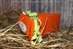 Happy Easter, Carrot, Karotte, Ostern, Goodie, Deko, Cutie Pie, Pumpkin, Kürbisgelb, Schokolade, Chocolate, Berlin, Stampin' Up!, BastelBazzzille