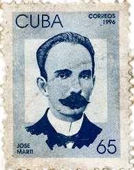 Jose Marti stamp