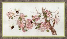 Items similar to Counted Cross stitch kit from Riolis collection - flowers on Etsy