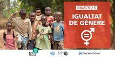 Igualtat de gènere: objectiu nº 05 de desenvolupament sostenible (ODS).