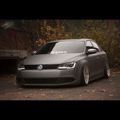Volkswagen Jetta - Matt paint - Instagram photo by @lowconformists (Low Conformists) | Statigram - vw stance