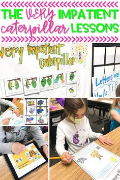 """If you are doing a butterfly unit in your kindergarten classroom, """"The Very Impatient Caterpillar"""" is a great butterfly read aloud to use! In this post, I share some of my favorite activities for The Very Hungry Caterpillar, and throughout our kindergarten and first grade butterfly unit."""