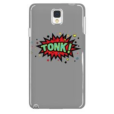 TONK! Galaxy Note 4 cell phone case (Gray)