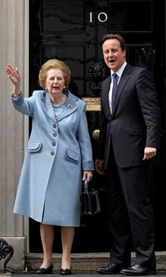 Margaret Thatcher Photo - David Cameron Welcomes Lady Thatcher To Downing Street