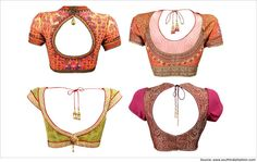 Are you looking for trendy blouse designs for net sarees? Check out this article with top 10 latest blouse designs for net sarees.