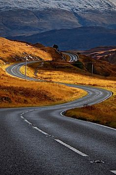 """utwo: """"go out and ride © huffingtonpost """" Beautiful Roads, Beautiful Landscapes, Beautiful Places, Landscape Photography, Nature Photography, Travel Photography, Places To Travel, Places To Visit, Road Routes"""