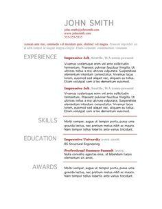 7 Free Resume Templates | Primer