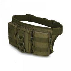 124d192c88 2018 Newest Tactical Men Waist Bags Hip Package Pochete Outdoor Sport Fanny  Pack Hiking Travel Large Waist Pack
