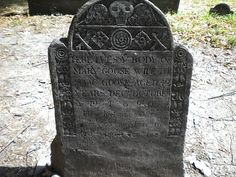 The Grave of Mother Goose....