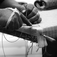 Japanese craftsman, tatami maker