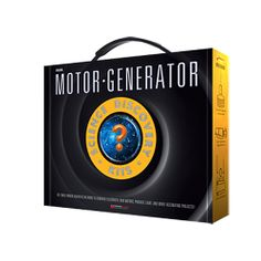 Motor Generator Set at xUmp.com Explore magnets by building devices that use a build-able generator and/or motor