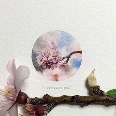"""Le projet """"365 Postcards for Ants"""" de l'artiste sud-africaine Lorraine Loots, qui a décidé de réaliser une peinture miniature par jour pendant un an. Des cr"""
