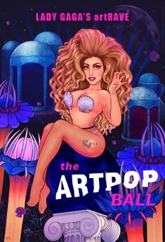Lady Gaga's artRAVE by Helen Green
