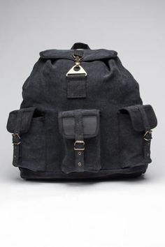 ROTHCO VINTAGE WAYFARER BACKPACK W/ LEATHER ACCENTS