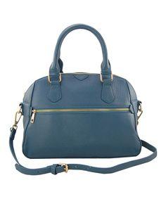 Another great find on #zulily! J. Ellen Denim Blue Jocelyn Shoulder Bag by J. Ellen #zulilyfinds