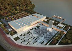Galeria - Resultados do Concurso Centro Cultural de Eventos e Exposições – Cabo Frio, Nova Fribugo e Paraty - 21 / Estúdio 41 Arquitetura