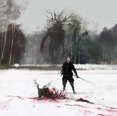 Just Another Day at Work by Jakub Rozalski