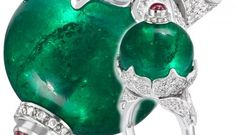 Theo Fennell creates jewellery with Gemfields emeralds