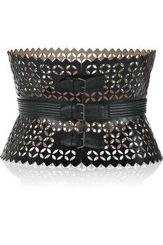 Alaia Leather Waist Belt - could be Steampunk