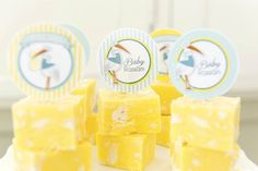 Party Printables | Party Ideas | Party Planning | Party Crafts | Party Recipes | BLOG Bird's Party: Baby Shower | Lemon Meringue Fudge Recipe