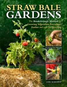 "Win this book....""Straw Bale Gardens"" Giveaway!  Enter today and Monday, March 25th until 9pm Pacific"