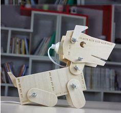 DIY Little Doggie #lamp #DIY #dog