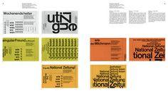 Neue Grafik/New Graphic Design/Graphisme actuel 1958-1965 – Baden, Switzerland