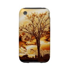 The Tree in Molten Gold iPhone 3 case  The Tree my Friend Mihai Loves and supplied me with the Original photo. This is altered and in Molten Gold on this iPhone 3G/3GS Case-Mate Tough™ case