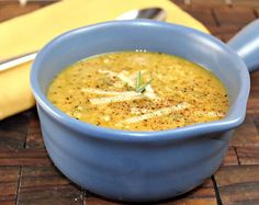 Broccoli White Bean Soup— a great #vegan alternative to classic broccoli and cheddar