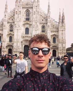 Selfies at the Duomo by robdamiani Celebrity Hairstyles, Drawing People, My Music, Selfies, Peeps, Hot Guys, Bands, Collage, Makeup