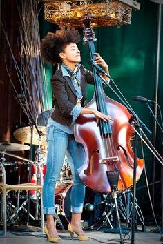 Music (& hair & style!):  Esperanza Spalding