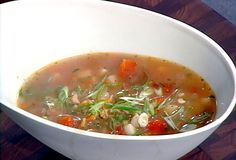Manhattan Clam Chowder from FoodNetwork.com