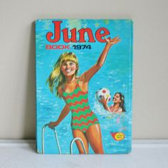 June Book 1974 A Fleetway Annual by BookSeeDaisy on Etsy, $12.00