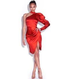 Rhinestone floral detailed slash belt handmade crystal belt – DIOR BELLA Dress Dior, White Tuxedo, Floral Mini Skirt, Red Cocktail Dress, Mini Dress With Sleeves, Red Satin, Skirt Set, Stilettos, Playsuits