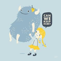 Found (Can We Keep Him) Art Print
